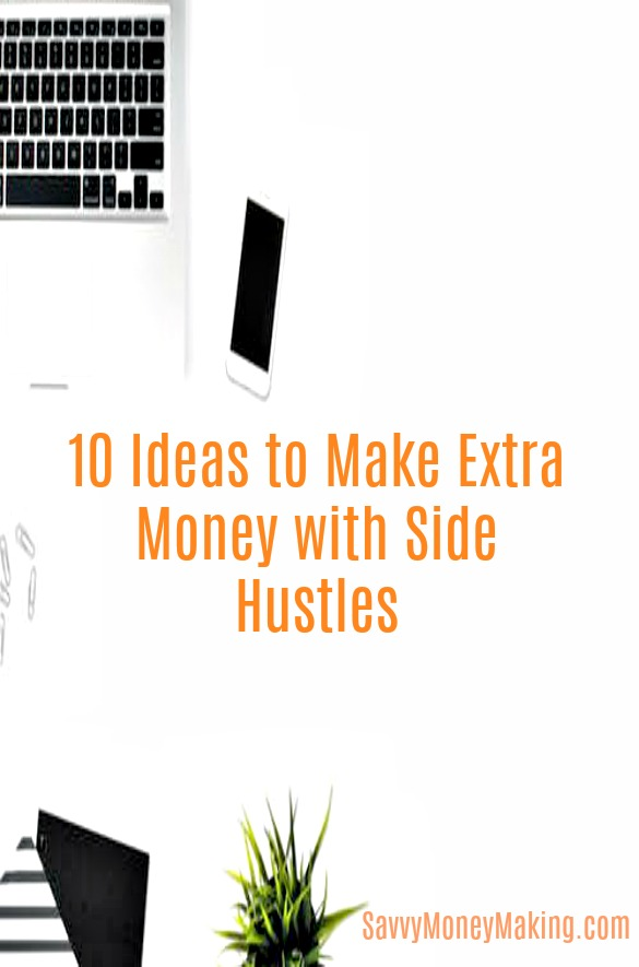 10 passive income ideas for earning extra money with side hustles
