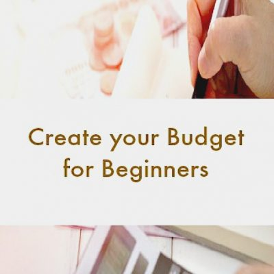 create a budget for beginners