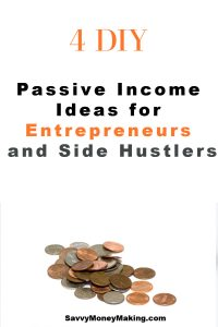 passive income ideas for online entreprenuers