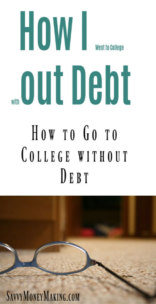 how to go to college with no debt