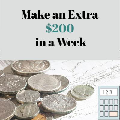 Make an extra $200