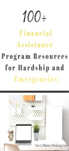 100+ financial assistance programs