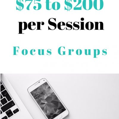 make money with focus groups
