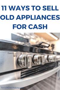old appliances for cash